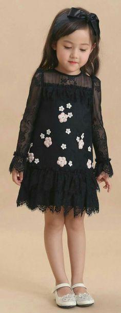 Happy Cherry Little Girls Princess Casual Slip Dress Cute Layered Cupcake Style Cotton Skirt