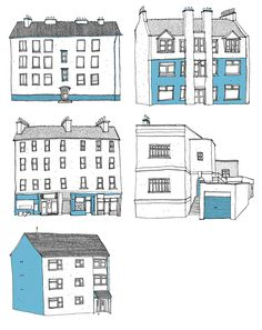 Oh Comely: Houses - David Galletly