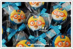Pororo Arctic Penguins, 3rd Birthday, Birthday Parties, Cake Pops, Macarons, Party Planning, First Birthdays, Party Themes, Kids