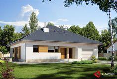 E-176 - E-DOMY.pl Projekty domów jednorodzinnych, piętrowych, energooszczędnych.