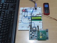 Type and Send SMS using PS2 Keyboard and GSM Module with Arduino