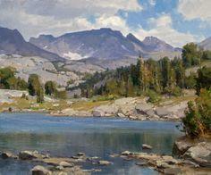 "Clyde Aspevig (American 1951-)| ""Wind River Range"""