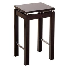 """Winsome Wood 92724 Linea 23"""" Stool with Chrome Accent"""