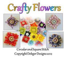 Crafty Flowers - SuperDuo Twin Beads | JewelryLessons.com
