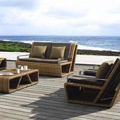 Meble ogrodowe technorattan Palace - zestaw wypoczynkowy Sofa Furniture, Outdoor Furniture Sets, Outdoor Decor, San Pedro Sula, Tegucigalpa, Roatan, Diamond Jewelry, Luxury, Design