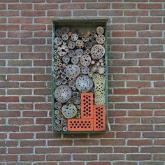 Bijenhotels voor wilde bijen