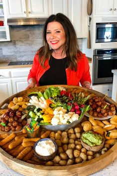 Epic Easter Entertaining Snack Board #snackboard #eastersnackboard #farmrich