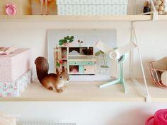 Una habitación de manualidades preciosa