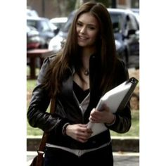 Elena Gilbert Vampire Diaries Black Jacket | Women Celeb Jackets#leatherjackets #leatherjacket #leather #leatherjacketseason #leatherjacketswag #leatherjacketweather #leatherjacketph #fashion #leatherjacketsforwomen #leatherfashion #jackets #style #leatherjacketstyle #leatherjacketlove #hoodies #leatherjacketgang #leatherjacketmurah #leatherjacketsformen #leatherjacketformen #leatherjacketpainting #leatherjacketguy #leatherpants #leatherjacketforsale #leatherjacketclub #jacket… Vampire Diaries Stefan, Vampire Diaries Fashion, Claire Holt, Paul Wesley, Christian Grey, Nina Dobrev, Quotes Thoughts, Look Thinner, Elena Gilbert