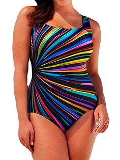 1d5fc25eec Century Star #Women Plus Size Cover Up One Piece Slimming Control Blouson  Tankini #Swimsuit