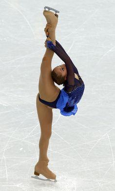 2014 Sochi Olympics - Russia's Julia Lipnitskaia performs in the Women's Figure Skating Team Short Program at the Iceberg Skating Palace during the 2014 Sochi Winter Olympics on February 8, 2014.