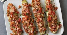 Swap vegetables for noodles in this healthy lasagna-inspired recipe. Stuffing zucchini boats with chicken sausage, tomato, ricotta and herbs gives you all the flavors of lasagna without all the carbs. Pizza Carbs, Healthy Lasagna, Diet Center, Italian Chicken Sausage, Healthy Low Carb Recipes, Keto Recipes, Vegetarian Recipes, Healthy Food, Diet Meal Plans