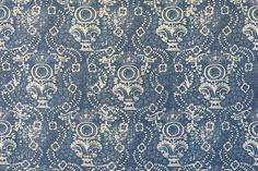 Rama Blue Penny Morrison  Fabric