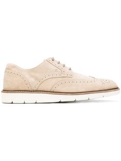 HOGAN Lace Up Brogues. #hogan #shoes #flats