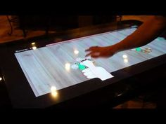 T4 Touch Screen Restaurant Table