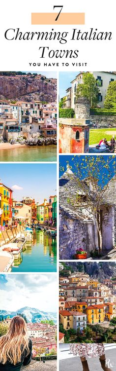 7 Italian Towns (That Aren't Rome or Florence) You Have to Visit  #purewow #travel #international #vacation #vacation inspiration