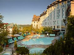 Fairmont Tremblant - Fairmont Tremblant, Canada. Really looks like this. Service was amazing. (JJ)