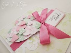 Gabi M. craftuje: CARDS Hearts In Heart Rose & Luminous Green