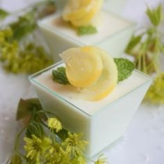 Celebrate Spring with the zest of Lemon Panna Cotta!