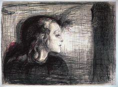 Edvard Munch: The Sick Child I [1886]