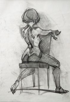 ArtStation - Recent life drawings, Ben Lo