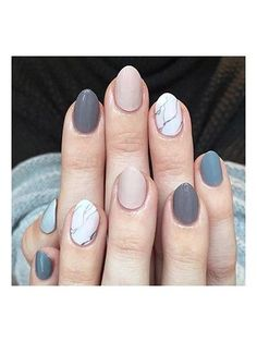 Chic Nail Art - Mixed marble | allure.com