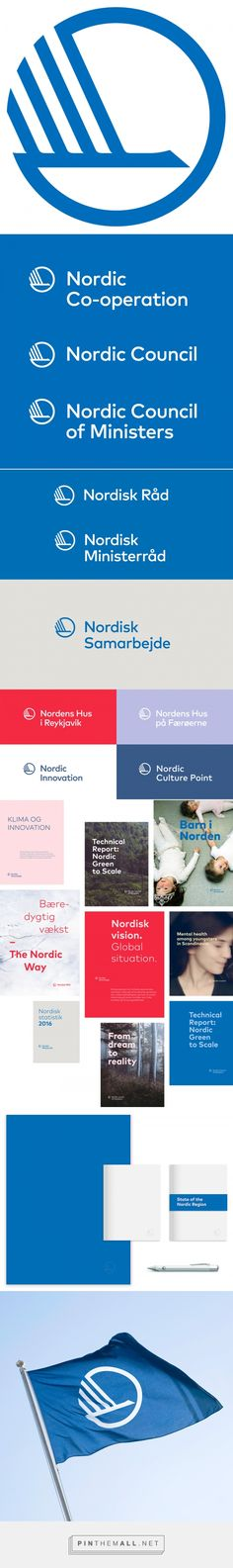 Brand New: New Logo and Identity for Nordic Co-operation by Kontrapunkt... - a grouped images picture - Pin Them All