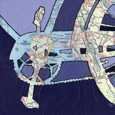 all rights reserved © Leslie DeRose 2010-2013 Title: Bike Bay