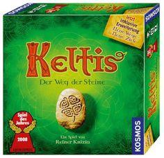 Keltis + Neue Wege, Neue Ziele Expansion - Board Game - New #Kosmos