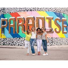 PARADISE! ✌️ looks: @loonyjeans #wynwood #miami
