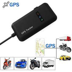 XCSOURCE Traceur Véhicule en Temps Réel Localisateur GPS/GSM/GPRS/SMS Traceur Antivol Voiture Moto Vélo AH207: Caractéristiques : Suivi en…