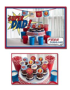 super dad Father's day Free Printables