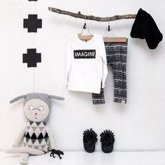 Preto e Branco na decoração de quartos de meninos: Super moderno! Tendência!