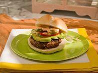 Marcela's Spicy Oregano Burgers Recipe : Marcela Valladolid : Food Network