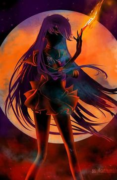 Sailor Mars Silhouette. ..amazing.