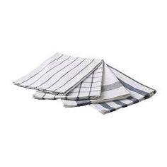 Using this dish towels as napkins are usually a more affordable option as well as being useful more than just at the dinner table.
