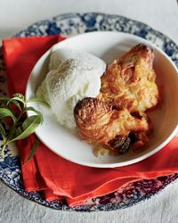 Pumpkin Pie-Croissant Pudding // More Fantastic Bread Puddings: http://www.foodandwine.com/slideshows/bread-pudding-desserts #foodandwine