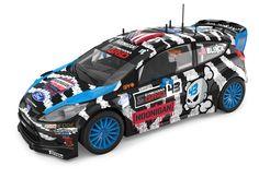"Scalextric - Ford Fiesta RS WRC ""Ken Block"""