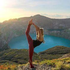 Beautiful yoga pose pic