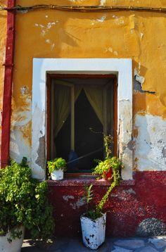 window III by prits-koko on DeviantArt Door Knobs, Door Handles, Garden Doors, English Countryside, Window Design, Greek Islands, Windows And Doors, Beautiful Images, Greece