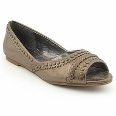 Add gladiator-inspired style to your flats with the Calvin Klein Randi shoes. These flats feature a leather upper with an open toe, scalloped trim, a braided accent, and stunning stud detailing. The rubber outsole provides durable traction and wear. http://www.amazon.com/dp/B005D4BSS6/?tag=icypnt-20