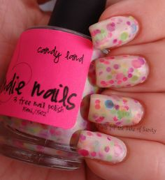 Jindie Nails Candy Land - Nails for the Sake of Sanity