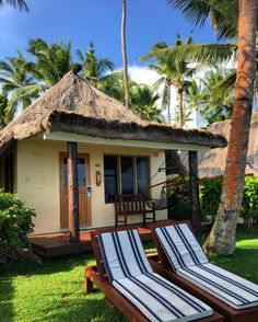 Outrigger Fiji Beach Resort bures are wonderful spots to call your home for the holiday All Inclusive Vacations, Beach Resorts, Travel Around The World, Around The Worlds, Fiji Beach, Luxury Escapes, Island Life, Luxury Travel, Getting Out