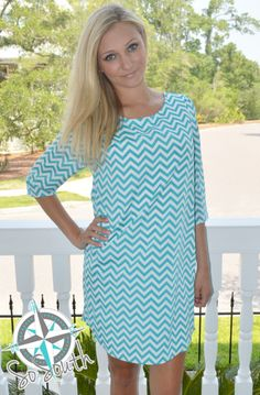 SoSouth Boutique - Online Boutique www.ShopSoSouth.com #fashionobsessed #dresses Chevron Print Dresses, How To Get Warm, Hippy, Online Boutiques, Ireland, Irish, Cover Up, Spring, Collection