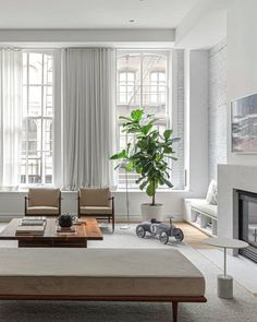 Proof that a cool tonal takeover works in any room. Get the look at theshadestore.com // Design by Studio Friedman // Photo by Sean Litchfield Living Room Windows, Living Room Colors, Design Consultant, Winter White, Designer Collection, Window Treatments, Blinds, Swatch, Shades