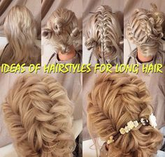 13 ideas of hairstyles for long hair