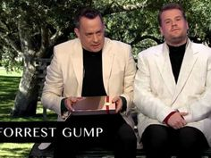To kick off the new Late Late Show with James Corden, Tom Hanks and James Crorden played an acting lightening round of Tom Hanks greatest films. Using a green screen and a few props these two acted out scenes from Captain Phillips, Forest Gump, Big, Philadelphia, Saving Private Ryan, A League Of Their Own, Castaway, Joe Versus the Volcano, Toy Story, The Terminal and more! Watch them fit all of the memorable moments into this super short segment (they do it in around 6 minutes really) and relive some of the best films in the epic career of Mr Tom Hanks.