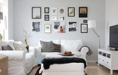 IKEA - EKTORP two seater sofa in 2 colours