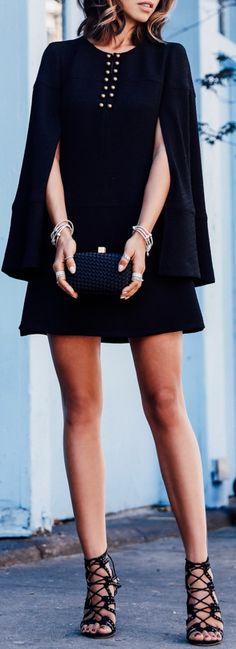 Live Wire dress | CHELSEA PARIS sandals