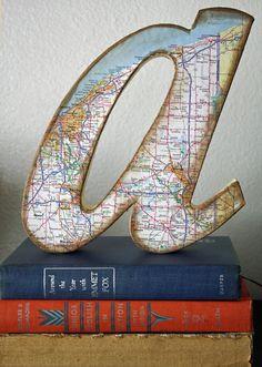 En dan met de letters van zijn naam op een plank in 4 provincies met zijn roots